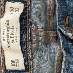Abercrombie women's jeans